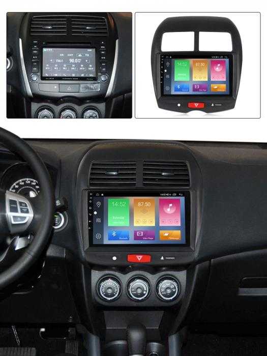 Navigatie Mitsubishi ASX 2010-2019,  Peugeot 4008 NAVI-IT, 10.1 Inch, NAVI-IT, 10.1 Inch, 1GB RAM 16GB ROM, Android 9.1, WiFi, Bluetooth, Magazin Play, Camera Marsarier [6]