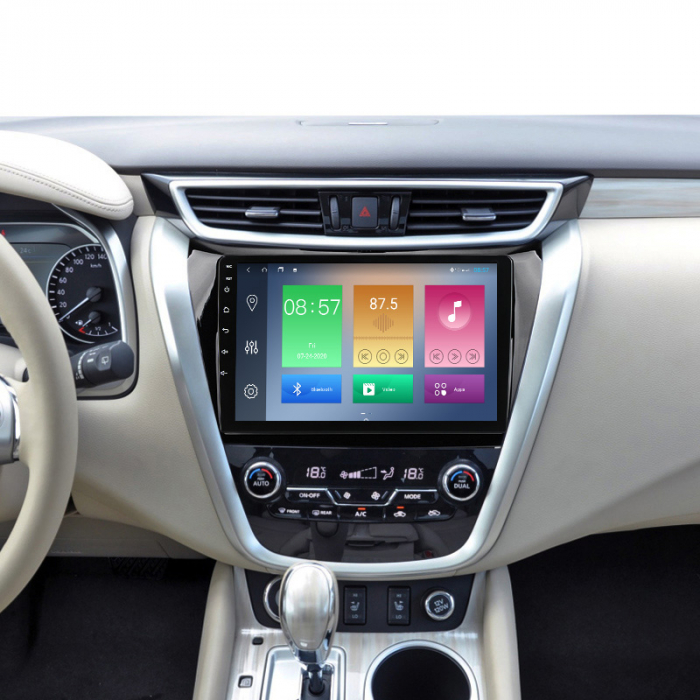 Navigatie Nissan Murano 2014-2020, 10.25 Inch, 2GB RAM 32GB ROM, Android 9.1, WiFi, Bluetooth, Magazin Play, Camera Marsarier [3]