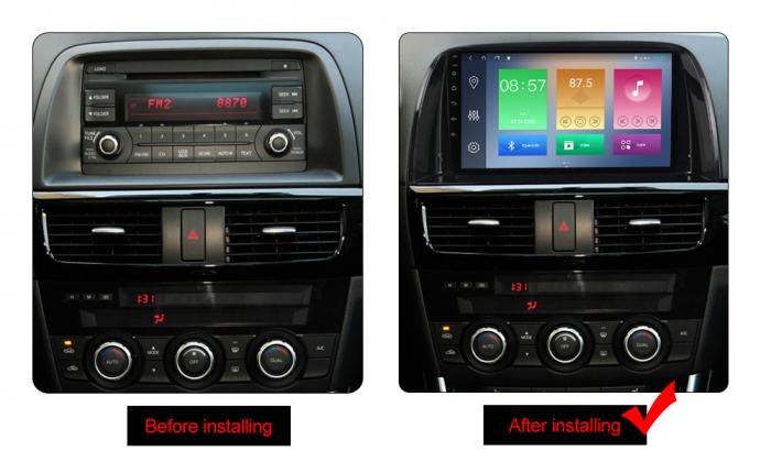Navigatie Mazda CX5 2012-2017, NAVI-IT, 9 Inch, 4GB RAM 64GB ROM, IPS, DSP, RDS, 4G, Android 10 , WiFi, Bluetooth, Magazin Play, Camera Marsarie [1]