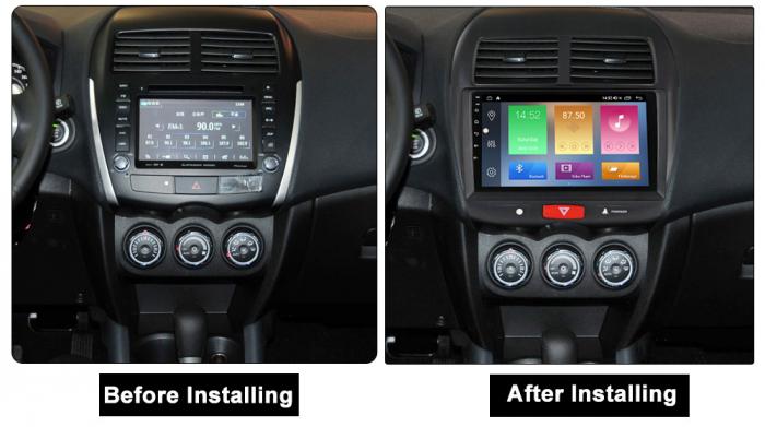 Navigatie Mitsubishi ASX 2010-2019,  Peugeot 4008 NAVI-IT, 10.1 Inch, NAVI-IT, 10.1 Inch, 1GB RAM 16GB ROM, Android 9.1, WiFi, Bluetooth, Magazin Play, Camera Marsarier [1]