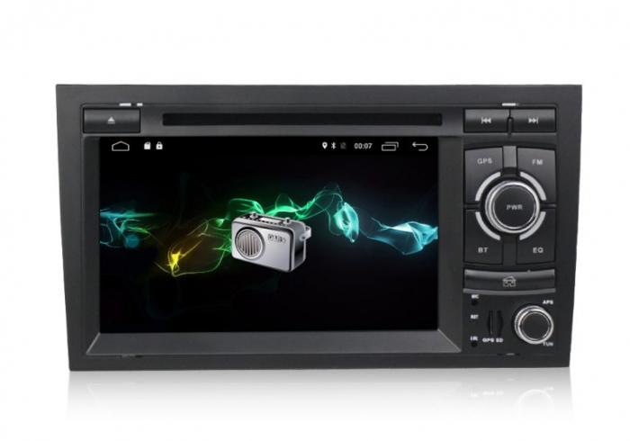Navigatie auto dedicata Audi A4 (B6, B7) 2002-2008, Android 9 cu DVD + Cadou Card GPS 8Gb 2
