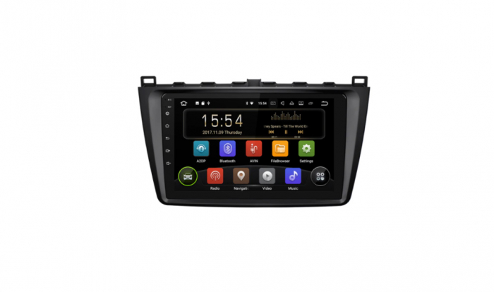 """Navigatie NAVI-IT 4 GB RAM + 64 GB ROM  Gps Android Mazda 6 ( 2008 - 2014 ) , Display 9 """", Internet ,Aplicatii , Waze , Wi Fi , Usb , Bluetooth , Mirrorlink - Copie - Copie 0"""