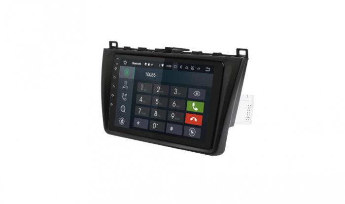 "Navigatie NAVI-IT 1GB RAM + 16GB ROM  Gps Android Mazda 6 ( 2008 - 2014 ) , Display 9 "", Internet ,Aplicatii , Waze , Wi Fi , Usb , Bluetooth , Mirrorlink 1"