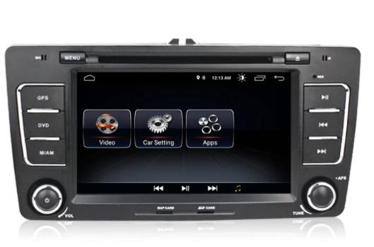 Navigatie NAVI-IT, 2GB RAM 16GB ROM, Skoda Octavia 2, Display 7 Inch, Android 10, IPS, DSP, RDS, WiFi, Bluetooth, Magazin Play 2