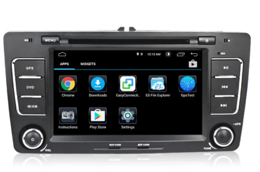 Navigatie NAVI-IT, 2GB RAM 16GB ROM, Skoda Octavia 2, Display 7 Inch, Android 10, IPS, DSP, RDS, WiFi, Bluetooth, Magazin Play 3