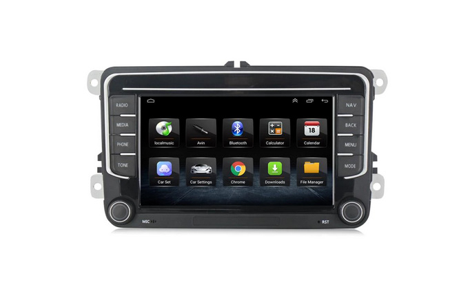Navigatie NAVI-IT, 1GB RAM 16GB ROM, Model 2021, Volkswagen Golf 5, Passat B6, Jetta, Android 9.1, Display IPS, Functie RDS, Bluetooth, WiFi, Magazin Play, Camera Marsarier [0]