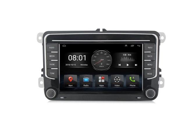 Navigatie NAVI-IT, 1GB RAM 16GB ROM, Model 2021, Volkswagen Golf 5, Passat B6, Jetta, Android 9.1, Display IPS, Functie RDS, Bluetooth, WiFi, Magazin Play, Camera Marsarier [3]