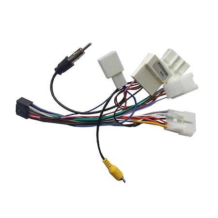 Cablaj adaptor Navi-it, Toyota, mentru modelele MTK,T3, conexiunea se realizeaza intre mufa generala a masinii si navigatia auto 1