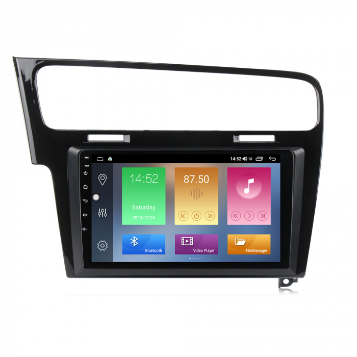Navigatie Volkswagen Golf 7, Gri, NAVI-IT, 9 Inch, 2GB RAM 32GB ROM, Android 9.1, WiFi, Bluetooth, Magazin Play, Camera Marsarier [2]