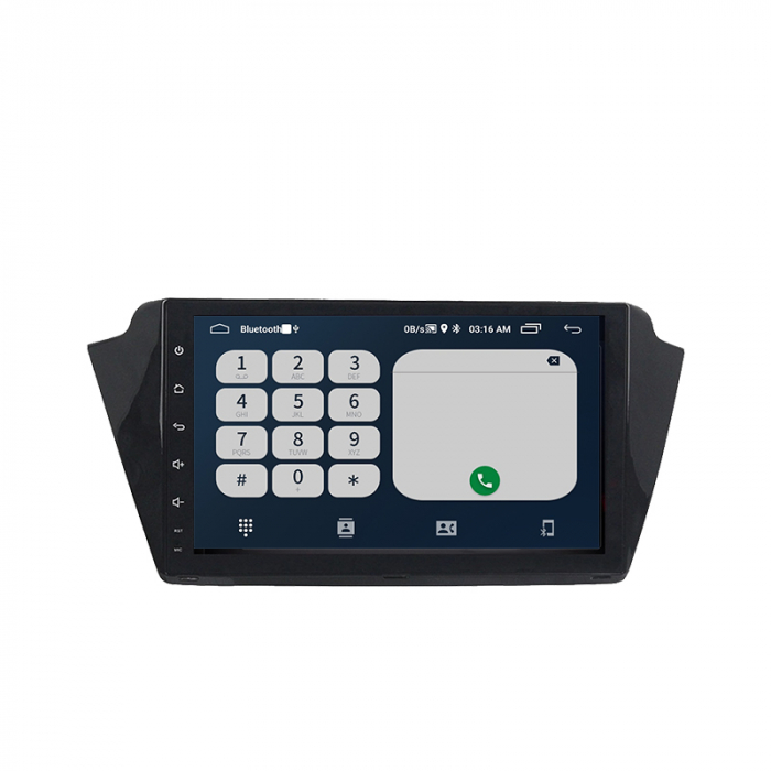 Navigatie Skoda Fabia 2015 NAVI-IT,9 Inch, 4GB RAM 64GB ROM, IPS, DSP, RDS, 4G, Android 10 , WiFi, Bluetooth, Magazin Play, Camera Marsarier [1]