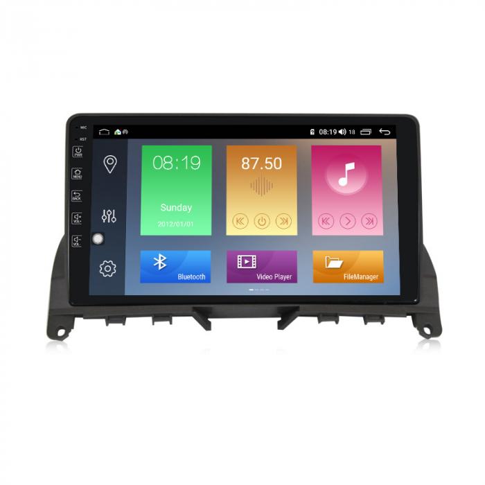 Navigatie NAVI-IT, 1GB RAM 16GB ROM, Mercedes W204, Android 9.1, Display IPS, Functie RDS, Bluetooth, WiFi, Magazin Play, Camera Marsarier [0]