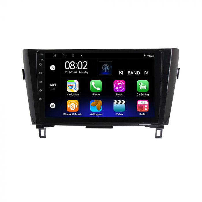 Navigatie NAVI-IT, 1GB RAM 16GB ROM, Nissan Qashqai, Android 9.1, Display IPS, Functie RDS, Bluetooth, WiFi, Magazin Play, Camera Marsarier [0]