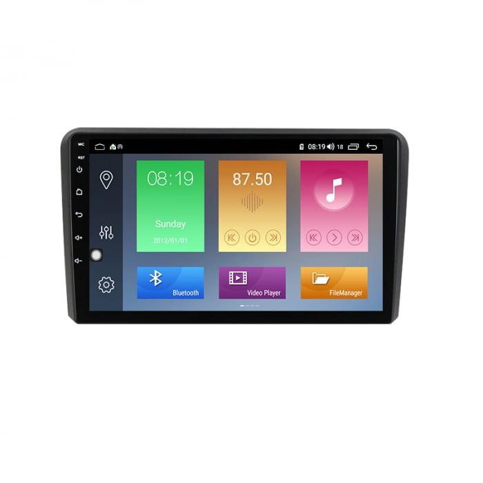 Navigatie NAVI-IT, 1GB RAM 16GB ROM, Audi A3, Android 9.1, Display IPS, Functie RDS, Bluetooth, WiFi, Magazin Play, Camera Marsarier [0]