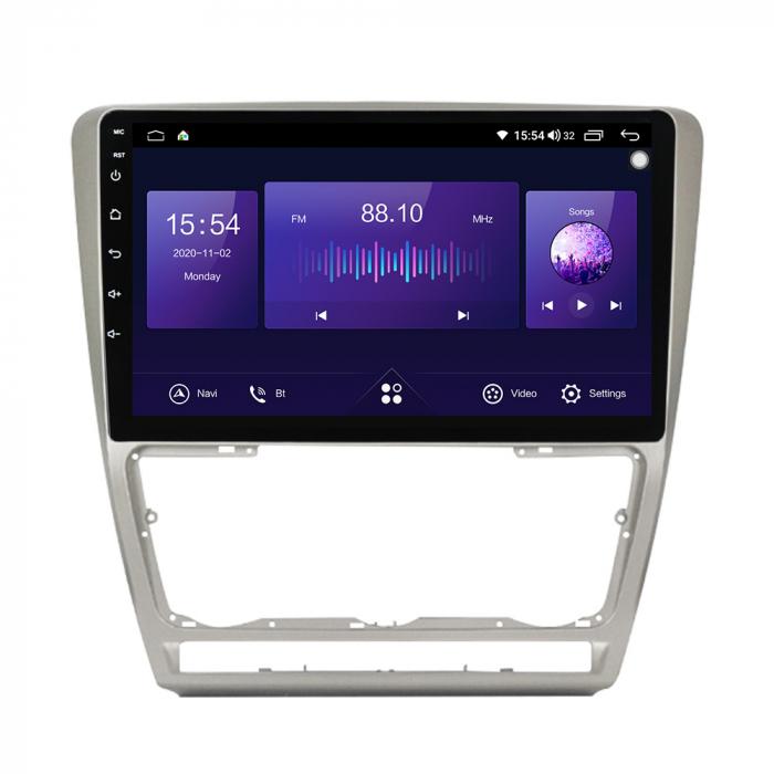 Navigatie NAVI-IT, 1GB RAM 16GB ROM, Skoda Octavia 2 FACELIFT ( 2009-2013 ), WiFi, Bluetooth, Android 9.1, Magazin Play 0