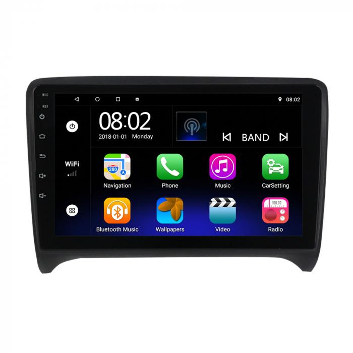 Navigatie NAVI-IT Audi TT, Display 9 Inch, Android 9, 2 GB memorie RAM, 32 GB memorie ROM, WiFi, Bluetooth, camera marsarier 0