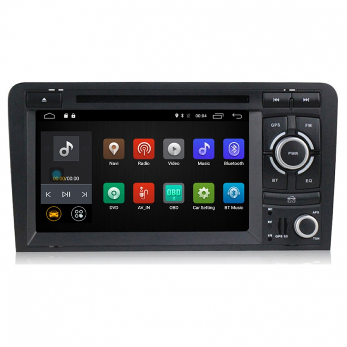 Navigatie auto dedicata Audi A3/S3 (2003-2013) 2 GB RAM, 32 ROM ,Android 10, 7 inch, 2/16GB DSP 0