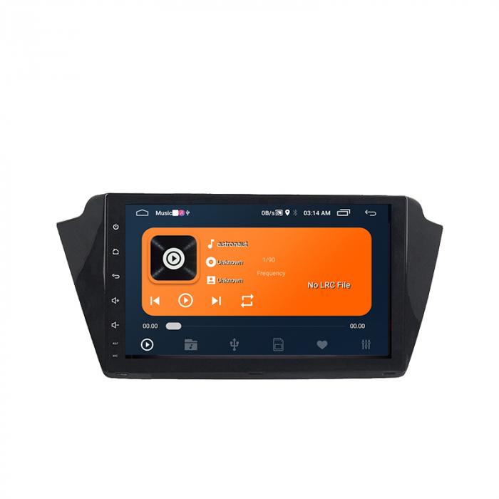 Navigatie Skoda Fabia 2015, NAVI-IT, 9 Inch, 2GB RAM 32GB ROM, Android 9,1, WiFi, Bluetooth, Magazin Play, Camera Marsarier [2]