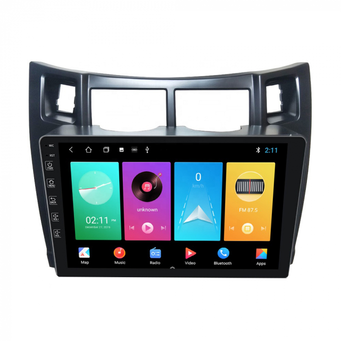 Navigatie Toyota Yaris (2008-2011), NAVI-IT, 9 Inch, 4GB RAM 64GB ROM, IPS, DSP, RDS, 4G, Android 10 , WiFi, Bluetooth, Magazin Play, Camera Marsarier [1]
