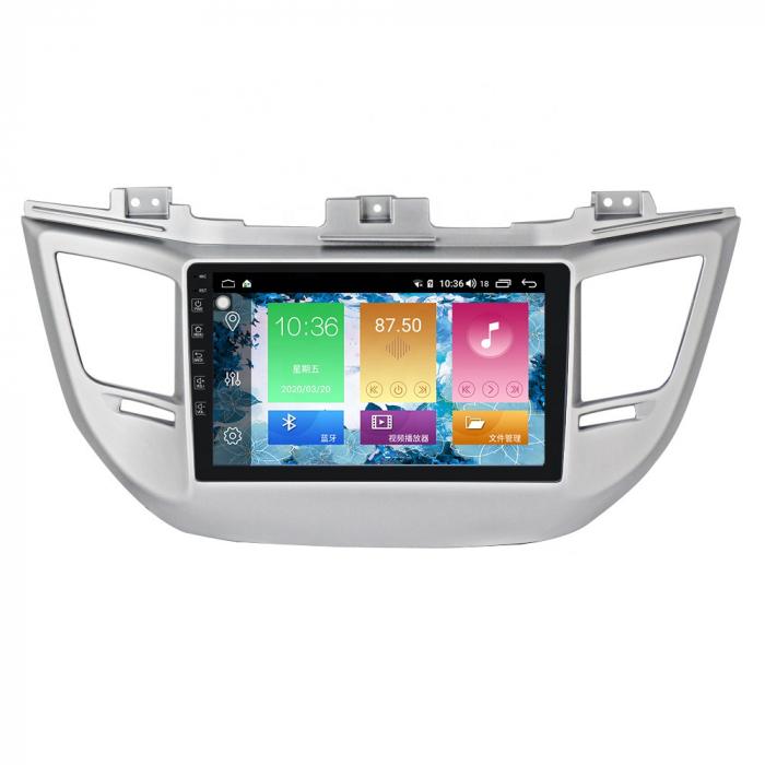 Navigatie NAVI-IT, 1GB RAM 16GB ROM, IX35 , Android 9.1, Display IPS, Functie RDS, Bluetooth, WiFi, Magazin Play, Camera Marsarier - BMW [0]