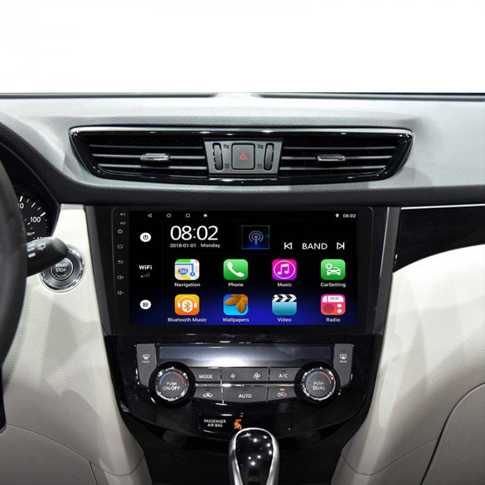 Navigatie NAVI-IT, 1GB RAM 16GB ROM, Nissan Qashqai, Android 9.1, Display IPS, Functie RDS, Bluetooth, WiFi, Magazin Play, Camera Marsarier [1]