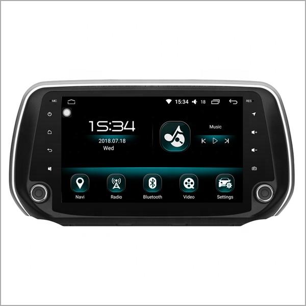 Navigatie Hyundai Santa Fe 2018, NAVI-IT, 10 Inch, 1GB RAM 16GB ROM, Android 9.1, WiFi, Bluetooth, Magazin Play, Camera Marsarier [0]
