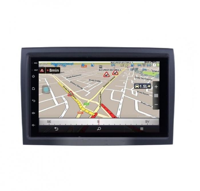 Navigatie NAVI-IT, 4GB RAM 64GB ROM, 4G, IPS, DSP, Peugeot Boxer, Android 9.1, WiFi, Bluetooth, Waze - Copie - Copie 0