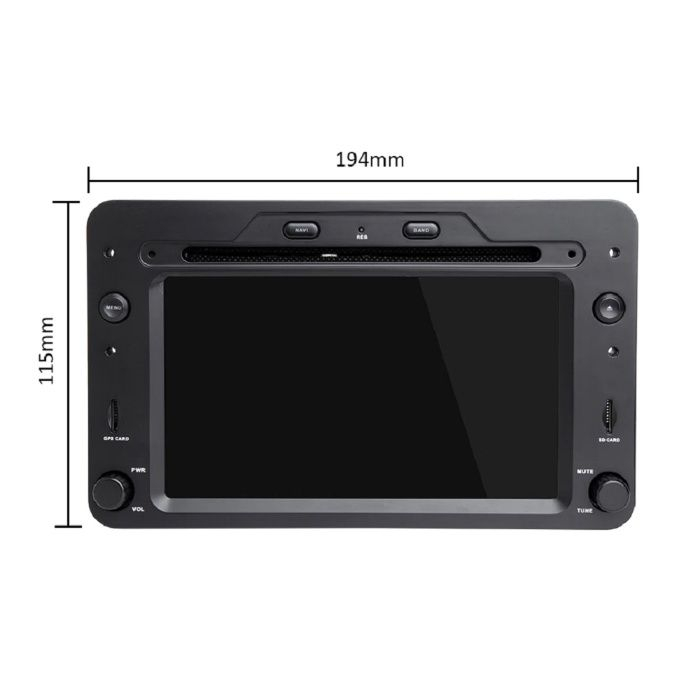 Navigatie NAVI-IT 1GB RAM 16 GB ROM dedicata cu Android 9.1, Alfa Romeo 159, Brera, Spider [2]