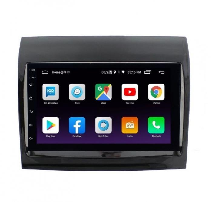 Navigatie NAVI-IT, 4GB RAM 64GB ROM, 4G, IPS, DSP, Peugeot Boxer, Android 9.1, WiFi, Bluetooth, Waze - Copie - Copie 1