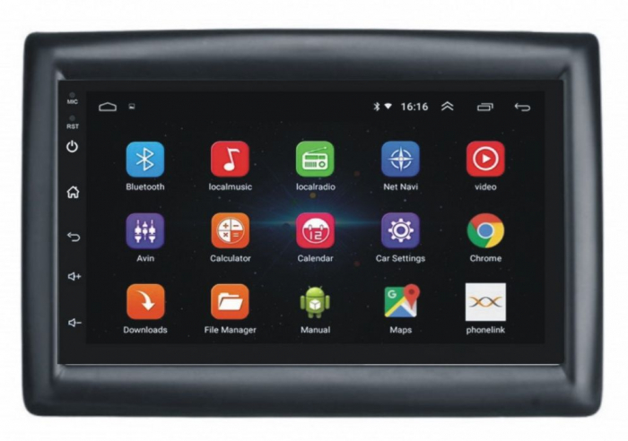 Navigatie NAVI-IT Android 9.1 1GB RAM 16 GB ROM, Renault Megane 2, Laguna 2  , Bluetooth, Gps [0]