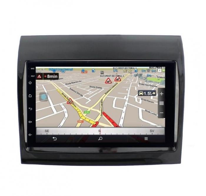 Navigatie NAVI-IT, 4GB RAM 64GB ROM, 4G, IPS, DSP, Peugeot Boxer, Android 9.1, WiFi, Bluetooth, Waze - Copie - Copie 3