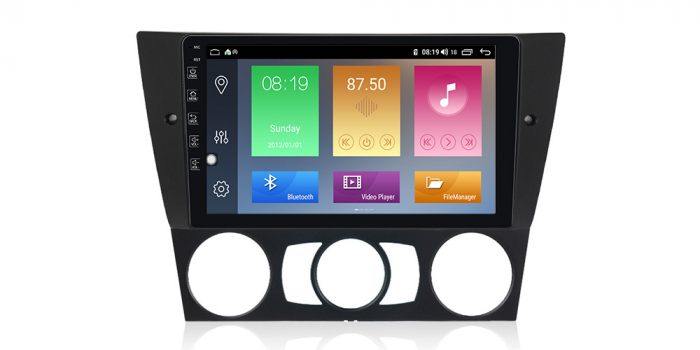 Navigatie NAVI-IT 4GB RAM + 64GB ROM Gps Android BMW Seria 3 E90 E91 (2005 - 2012), Internet , Aplicatii, Waze , Wi Fi , Usb , Bluetooth , Mirrorlink - Copie - Copie 2
