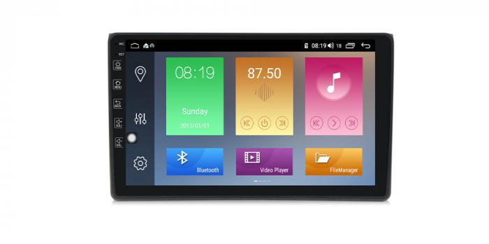 Navigatie NAVI-IT 1GB RAM + 16GB ROM Android Audi A4 B6 B7 , SEAT EXEO ( 2001 - 2008 ) , Display 9 inch , Internet ,Aplicatii , Waze , Wi Fi , Usb , Bluetooth , Mirrorlink [0]