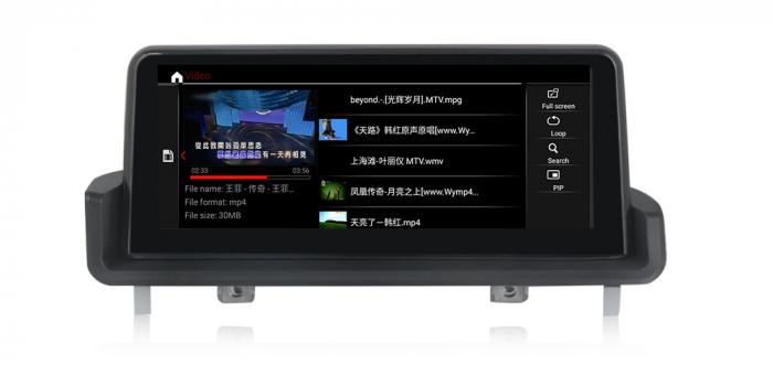 "Navigatie NAVI-IT 4 GB RAM + 64 GB ROM  BMW Seria 3 E90 E91 E92 E93 , Android, Touch Screen 10.25 "" IPS , Internet, Aplicatii , Waze , Wi Fi , Usb , Bluetooth , Mirrorlink 0"