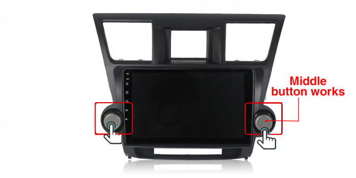 Navigatie Toyota HIghlander 2 (2007-2014), NAVI-IT, 9 Inch, 4GB RAM 64GB ROM, IPS, DSP, RDS, 4G, Android 10 , WiFi, Bluetooth, Magazin Play, Camera Marsarier [2]