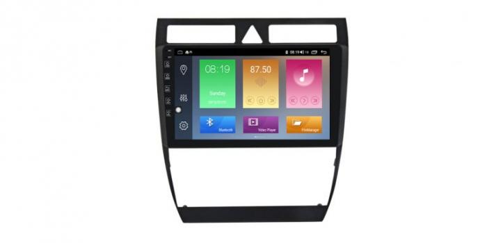 Navigatie Audi A6 1997-2004 Android 10, Display 9inch Full Touch, WiFi, Bluetooth, Waze, GPS, 1GB RAM 16GB ROM, microfon extern si camera marsarier 0