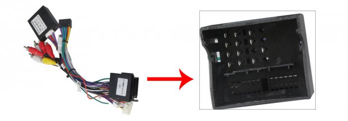 Navigatie NAVI-IT 2 GB RAM + 32 GB ROM Android Audi A4 B6 B7 , SEAT EXEO ( 2001 - 2008 ) , Display 9 inch , Internet ,Aplicatii , Waze , Wi Fi , Usb , Bluetooth , Mirrorlink - Copie [5]
