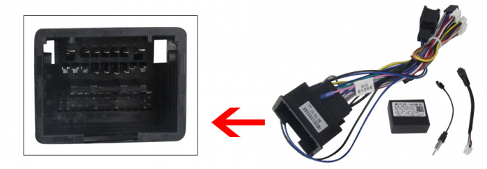 Navigatie Chevrolet Cruze 2009-2014, NAVI-IT, 9 Inch, 1GB RAM 16GB ROM, Android 9.1, WiFi, Bluetooth, Magazin Play, Camera Marsarier [2]