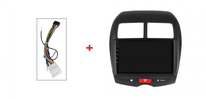 Navigatie Mitsubishi ASX 2010-2019,  Peugeot 4008 NAVI-IT, 10.1 Inch, NAVI-IT, 10.1 Inch, 1GB RAM 16GB ROM, Android 9.1, WiFi, Bluetooth, Magazin Play, Camera Marsarier [4]