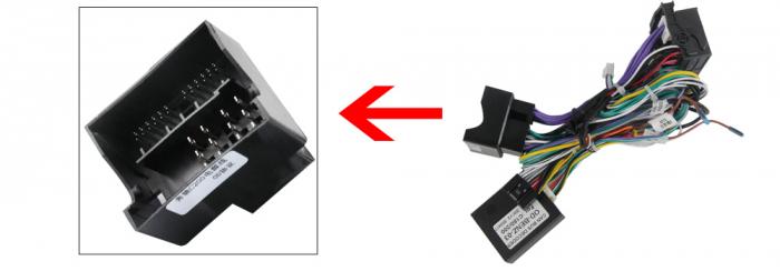 Navigatie NAVI-IT 2 GB RAM + 32 GB ROM Mercedes C Class W204 ( 2006 - 2012 ) , Android , Display 9 inch , Internet , Aplicatii , Waze , Wi Fi , Usb , Bluetooth , Mirrorlink 3