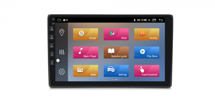 Navigatie NAVI-IT 4 GB RAM + 64 GB ROM Android Audi A4 B6 B7 , SEAT EXEO ( 2001 - 2008 ) , Display 9 inch , Internet ,Aplicatii , Waze , Wi Fi , Usb , Bluetooth , Mirrorlink - Copie - Copie 1