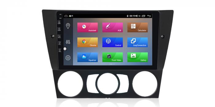 Navigatie NAVI-IT 2GB RAM + 32GB ROM Gps Android BMW Seria 3 E90 E91 (2005 - 2012), Internet , Aplicatii, Waze , Wi Fi , Usb , Bluetooth , Mirrorlink - Copie 0