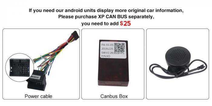 Navigatie Peugeot 408, NAVI-IT, 9 Inch, 2GB RAM 32GB ROM, Android 9.1, WiFi, Bluetooth, Magazin Play, Camera Marsarier [4]