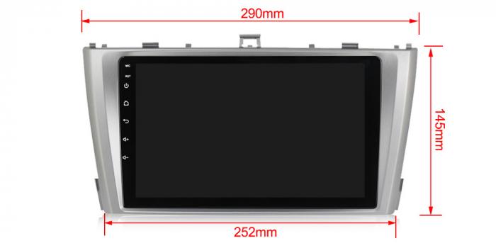 Navigatie Toyota Avensis 2011-2015, NAVI-IT, 9 Inch, 1GB RAM 16GB ROM, Android 9.1 , WiFi, Bluetooth, Magazin Play, Camera Marsarier [2]