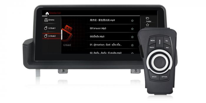 "Navigatie NAVI-IT 4 GB RAM + 64 GB ROM  BMW Seria 3 E90 E91 E92 E93 , Android, Touch Screen 10.25 "" IPS , Internet, Aplicatii , Waze , Wi Fi , Usb , Bluetooth , Mirrorlink 1"