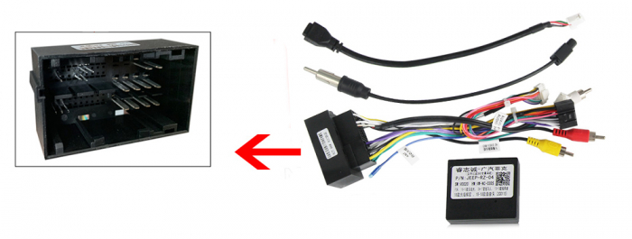 Navigatie Jeep Grand Cherokee 2014-2018, NAVI-IT, 10.25 Inch, 4GB RAM 64GB ROM, IPS, DSP, RDS, 4G, Android 10 , WiFi, Bluetooth, Magazin Play, Camera Marsarier [2]