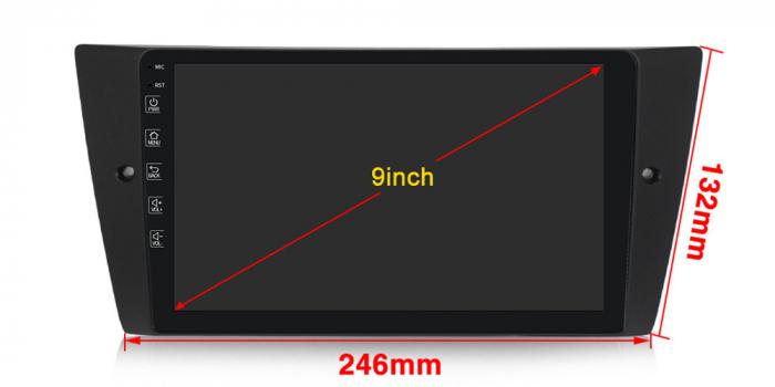 Navigatie NAVI-IT 4GB RAM + 64GB ROM Gps Android BMW Seria 3 E90 E91 (2005 - 2012), Internet , Aplicatii, Waze , Wi Fi , Usb , Bluetooth , Mirrorlink - Copie - Copie 4