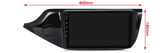 Navigatie Kia Ceed 2 2012-2018, NAVI-IT, 9 Inch, 1GB RAM 16GB ROM, Android 9.1, WiFi, Bluetooth, Magazin Play, Camera Marsarier [2]