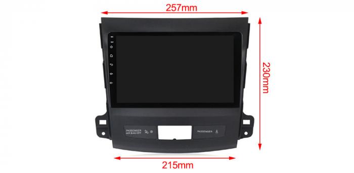 Navigatie Mitsubishi Outlander 2006-2012. NAVI-IT, 9 Inch, 4GB RAM 64GB ROM, IPS, DSP, RDS, 4G, Android 10 , WiFi, Bluetooth, Magazin Play, Camera Marsarier [2]