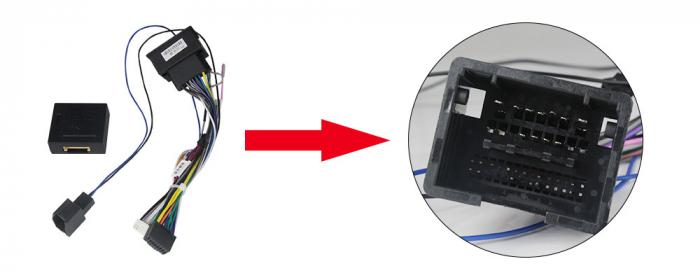 Navigatie Chevrolet Cruze 2012-2015, NAVI-IT, 9 Inch, 2GB RAM 32GB ROM, Android 9.1, WiFi, Bluetooth, Magazin Play, Camera Marsarier [2]