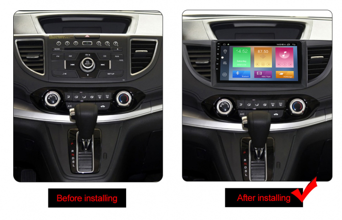 Navigatie Honda CR-V 2012, NAVI-IT, 10.25 Inch, 2GB RAM 32GB ROM, Android 9.1 , WiFi, Bluetooth, Magazin Play, Camera Marsarier [1]